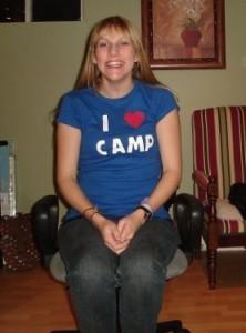 I heart camp tshirt