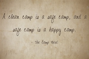 A-clean-camp-is-a-safe